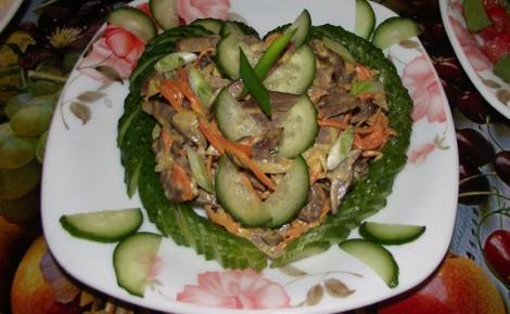 Салат сердечный рецепт фото картинки