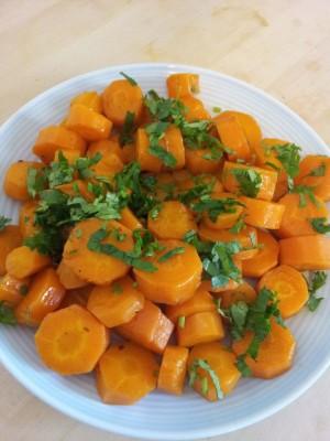 Рецепт Морковный салат по-тунисски