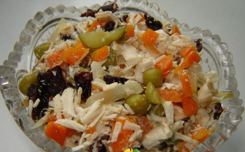 Как салат сделать тёплым 918