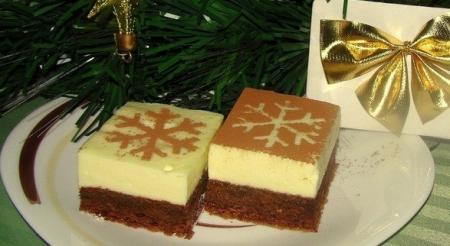 Рецепт Пирожное-суфле с шоколадом и сливками