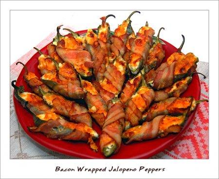 Рецепт Завернутый в бекон халапеньо перец (bacon wrapped jalapeno peppers)