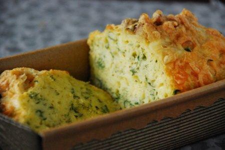 Рецепт Сырный кекс с укропом