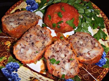 Рецепт Котлеты из фасоли и картофеля в мультиварке