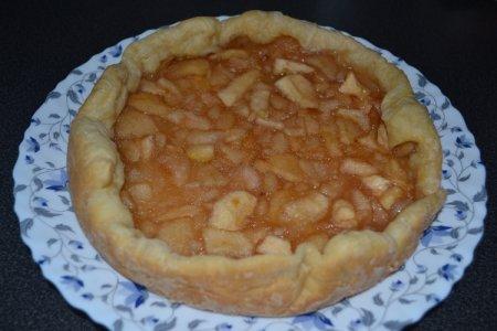 Рецепт Пирог яблочный слоеный, сладкий в мультиварке