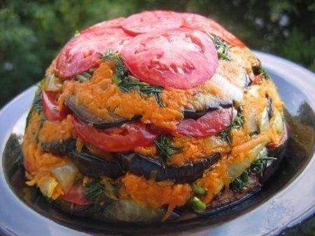 Рецепт Торт из овощей