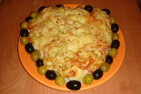Рецепт Филе трески под шубой