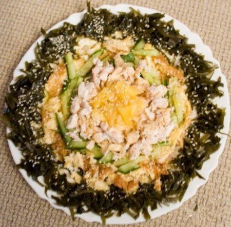 Рецепт Салат из курицы по-тайски