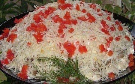 "Рецепт Салат ""Кучеряшка"""