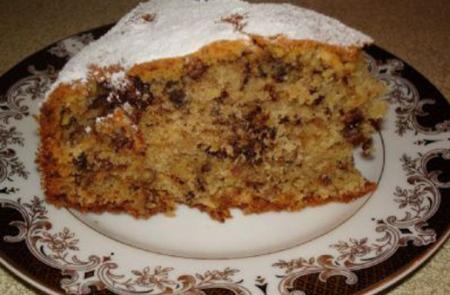 Французский ореховый пирог