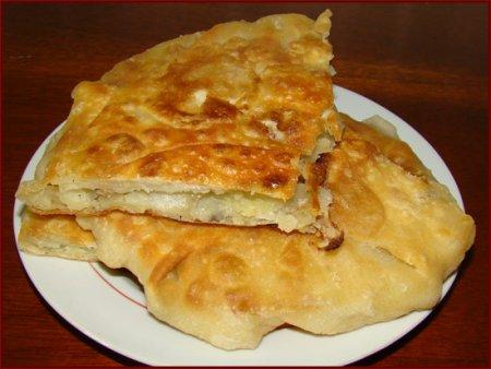 Рецепт Молдавские плацинды с картофелем и тыквой