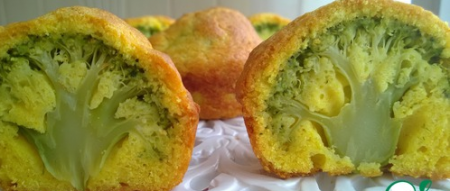 Рецепт Маффины с брокколи