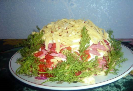 "Рецепт Салат ""Викинг"""