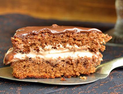 Рецепт Гречнево-шоколадный торт