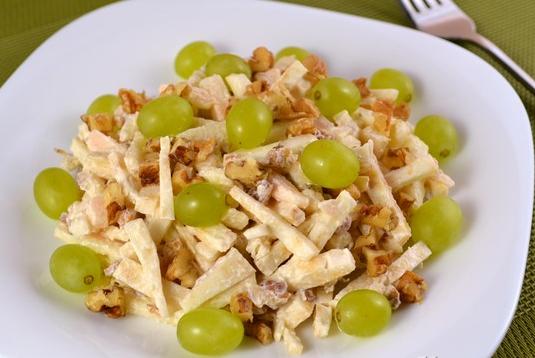 корень сельдерей ананас яблоко салат рецепты приготовления