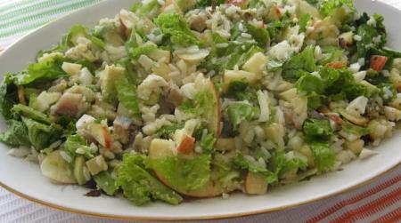 Рецепт Салат с авокадо и сельдью