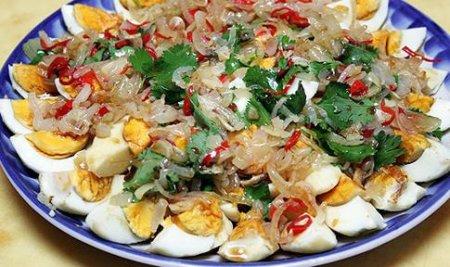 Рецепт Тайский салат из яиц
