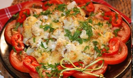 Рецепт Теплый салат в итальянском стиле
