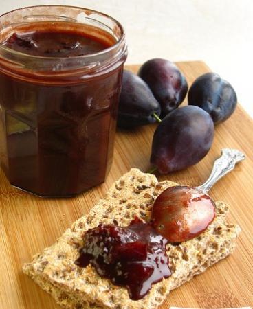Рецепт Слива и горький шоколад