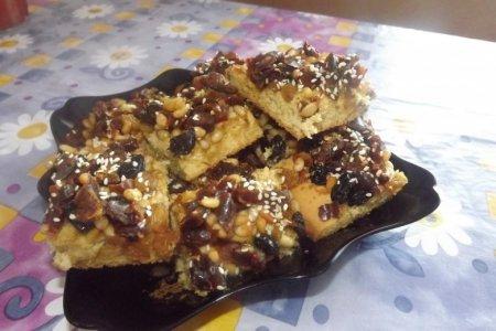 Рецепт Печенье с орехами и финиками