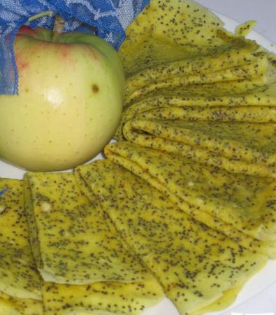 Рецепт Лимонно-маковые блины