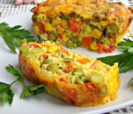 Рецепт Праздничная овощная запеканка