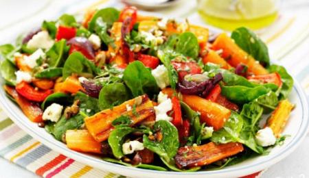 Рецепт Салат с жареной морковью