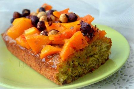 Рецепт Пряный тыквенный кекс с фундуком