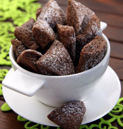 Рецепт Шоколадно-банановое печенье