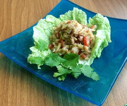 """Рецепт Салат из рыбы и овощей """"Копенгаген"""""""
