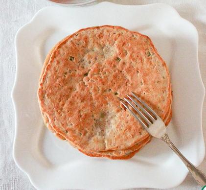 Рецепт Гречневые толстые оладьи-панкейки приготовленные в мультиварке