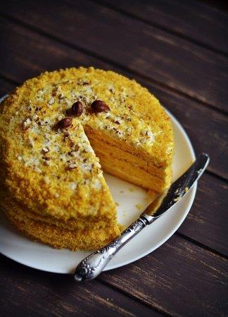 Рецепт Тыквенно-апельсиновый торт