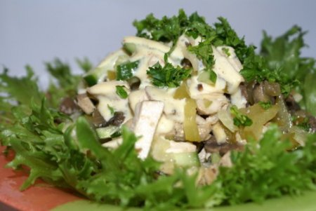 Рецепт Салат из сельдерея с мясом
