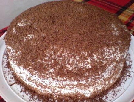 Рецепт Классический сметанный торт