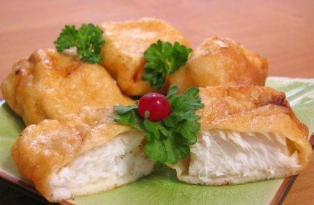 Рецепт Рыба, жаренная в кляре