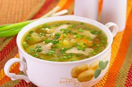 Рецепт Куриный суп с чечевицей