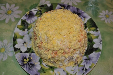 Салат мимоза рецепт с сардиной
