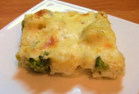 Рецепт Цветная капуста и брокколи, запеченные под сливочным соусом