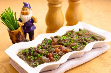 Рецепт Баранина, тушенная с баклажанами