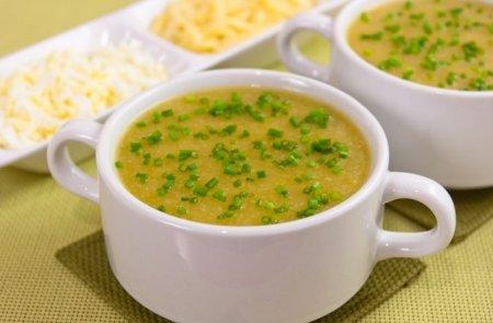 Суп-пюре из кабачков рецепт и цветной капусты