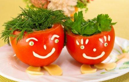 Рецепт Фаршированные помидоры «Веселые ребята»