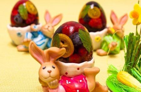 Рецепт Сладкие заливные яйца