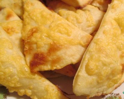 Рецепт Картофельное слоеное печенье