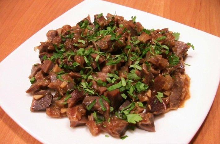 куриные сердечки рецепт жареные с соевым соусом