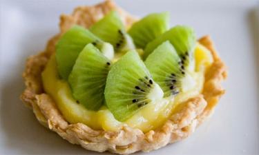 Рецепт Тарталетки с киви и лимонным кремом