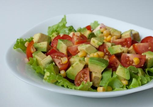 авокадо рецепт салат
