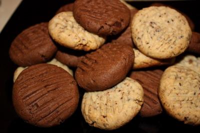 Рецепт Шоколадное печенье по-американски