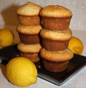 Рецепт Лимонно-имбирные маффины
