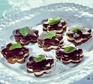 Рецепт Мятное печенье с шоколадом