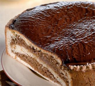 Рецепт Пирог Мишка с орехово-белковой начинкой