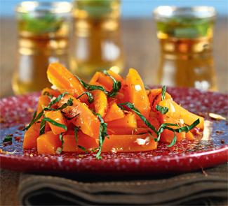 Рецепт Теплый морковный салат со специями